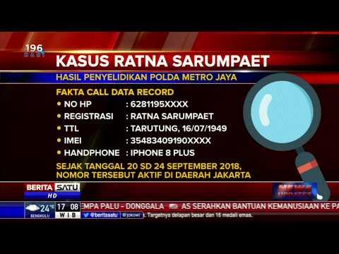 Kronologi Kasus Ratna Sarumpaet
