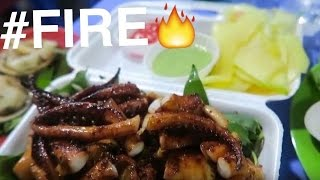 Epic Seafood Feast in Saigon! ? [#FIRE Ep.4] BBQ Octopus Teriyaki with Fresh Mango Slices