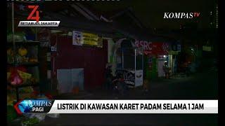 Selasa Dini Hari, Pemadaman Listrik Kembali Terjadi di Karet, Jakarta Selatan