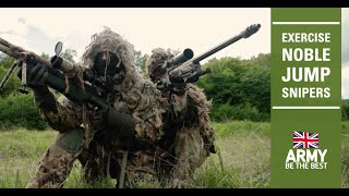 Defender Europe 21 | Exercise Noble Jump - Snipers | British Army