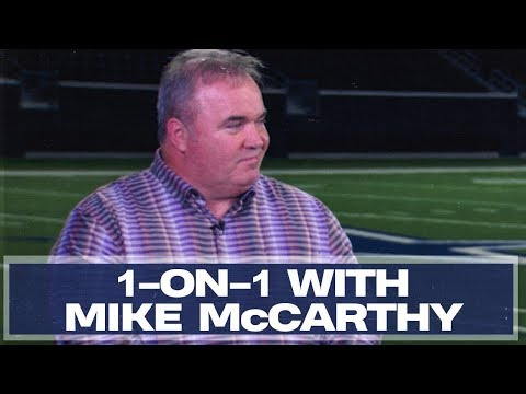 Mike McCarthy Explains How to Build a Roster | Dallas Cowboys