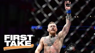 McGregor and Mayweather Fight: Overhyped? | First Take | May 18, 2017