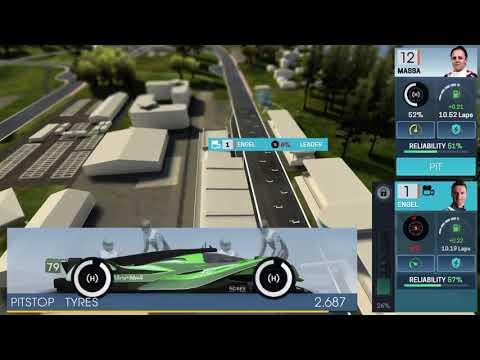 MotorSport Manager Race 1 |