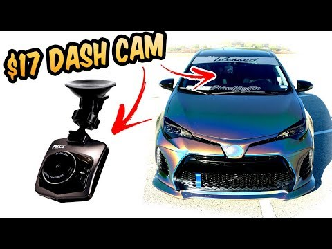 $17 Dash Cam From Walmart - How Bad It Can Be?