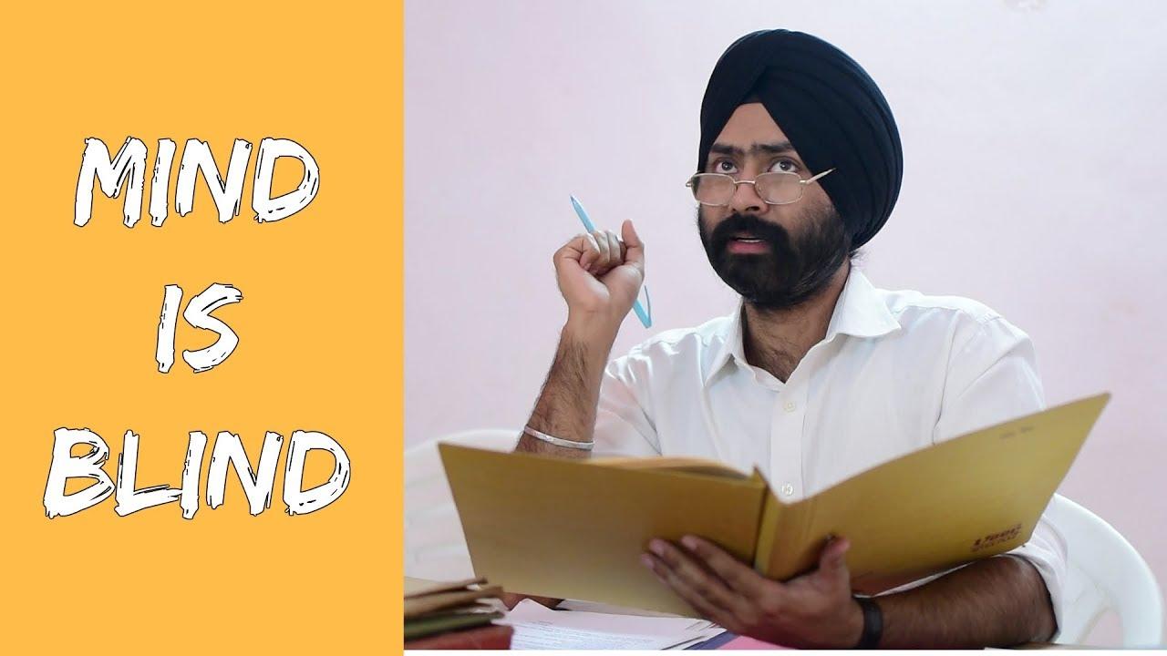 Mind is Blind ft. Gaurav Arora   Raahii Films   Harshdeep ...