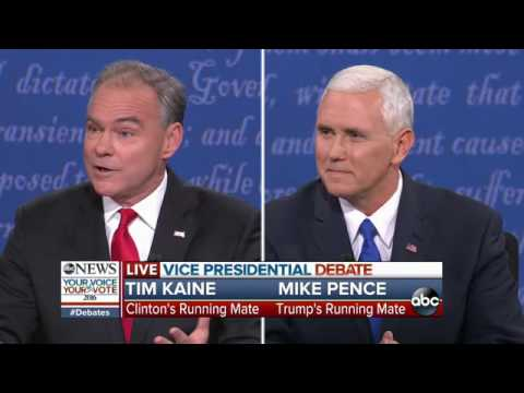 Vice Presidential Debate Full Highlights | Trump Tax Returns & Economic Plans