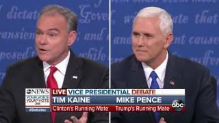 Vice Presidential Debate Full Highlights | Trump Tax Returns & Economic Plans