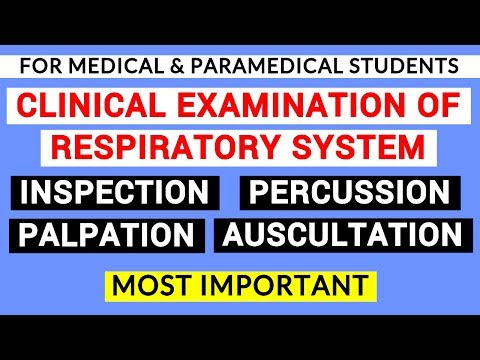 RESPIRATORY SYSTEM EXAMINATION   CLINICAL LAB   PHYSIOLOGY PRACTICALS