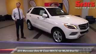 New 2015 Mercedes-Benz M-Class 4MATIC ML250 BlueTEC - Minnetonka, Minneapolis, Bloomington, MN