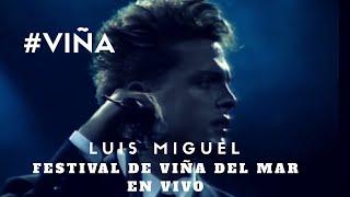 LUIS MIGUEL - Culpable o no - Festival de Viña 1990 #VIÑA #CHILE
