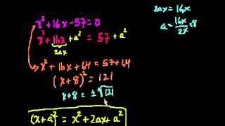 Уравнения с неполными квадратами