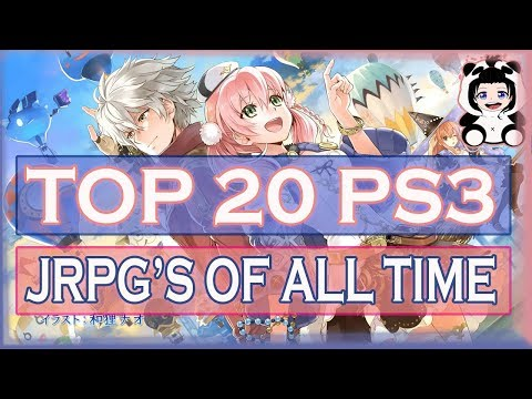 TOP 20 PS3 JRPG'S OF ALL TIME
