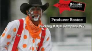 timmy johnson rodeo clown and entertainer