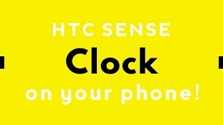 [Tutorial] How to get the HTC Sense Clock widget on any android device! [2017|HD] screenshot 4