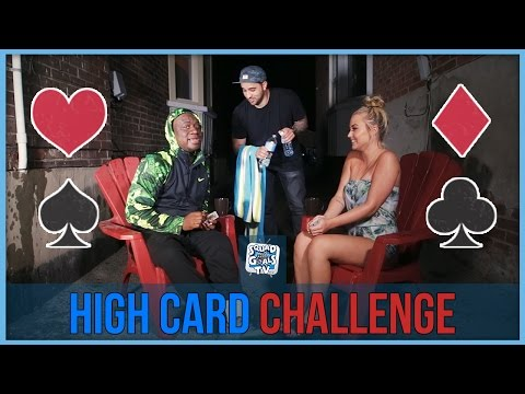 [TRIXX] HIGH CARD CHALLENGE (WATER WAR)