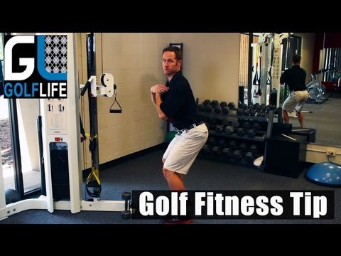Tame Your Game – Golf Fitness – Squats