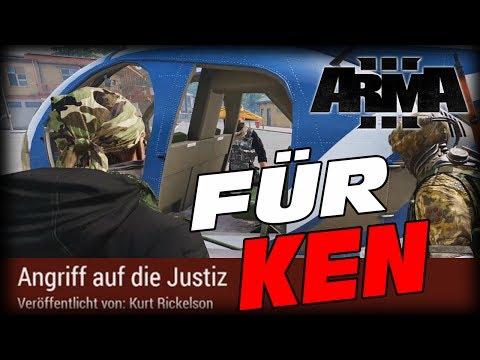 ARMA 3 - KW Tanoa Life - Für Ken - Angriff auf die Justiz - Twitch - Klaerwerk