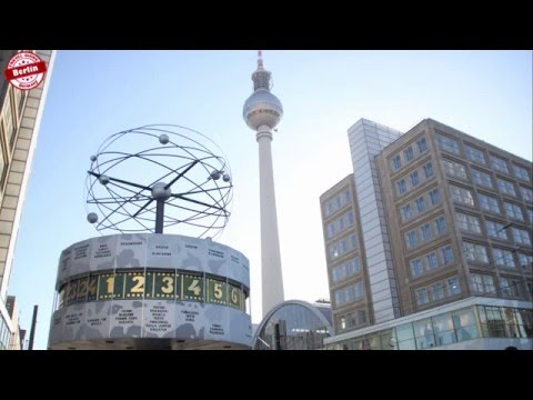 Fernsehturm Berlin Germany - Berlin TV Tower - With GoPro 2.7K