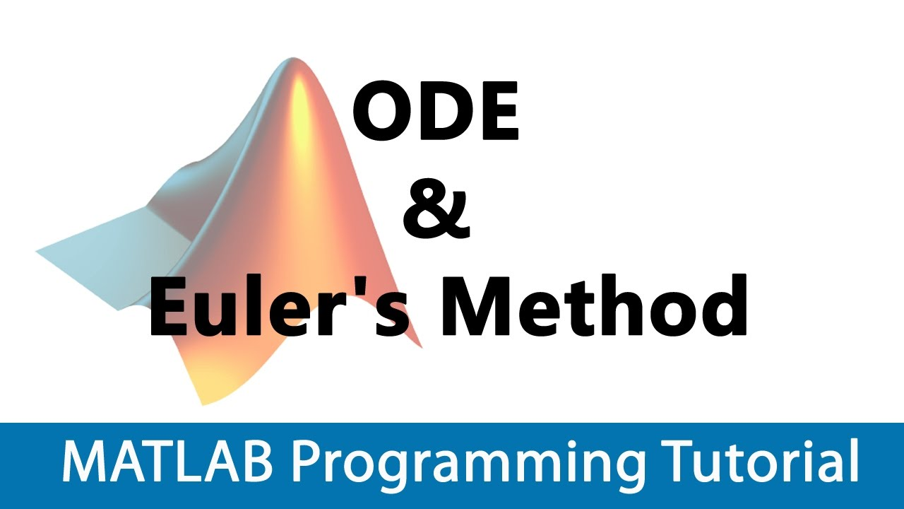 Tutorial: modeling ordinary differential equations in matlab.