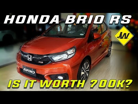 2019 Honda Brio 1.2 RS CVT -First Look, Vehicle Tour, Mini Review -Philippines