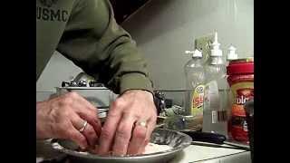 Cajun Fried Shrimp, Panko Breading, 1/3 Chef John The Ghetto Gourmet Show Akathor