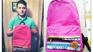 Красивый женский рюкзак за 18$. Мои посылки с aliexpress.(Здравствуйте,дорогие друзья ,подписчики и гости канала