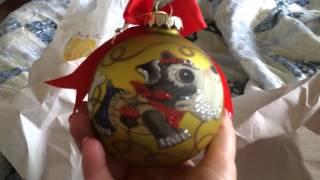 Schnauzer Christmas Ornaments 😊