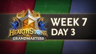 Hearthstone Grandmasters 2020 Season 1 | Week 7 Day 3