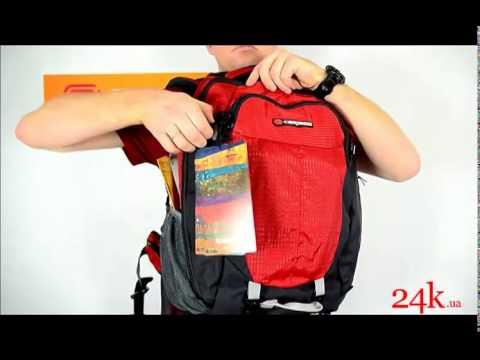 f1ad463ac004 Рюкзак Caribee Short hop 55 Red Charcoal - YouTube