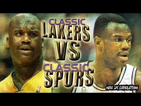 San Antonio Spurs vs Los Angeles Lakers   CLASSIC GAME   FULL GAME   NBA 2K18