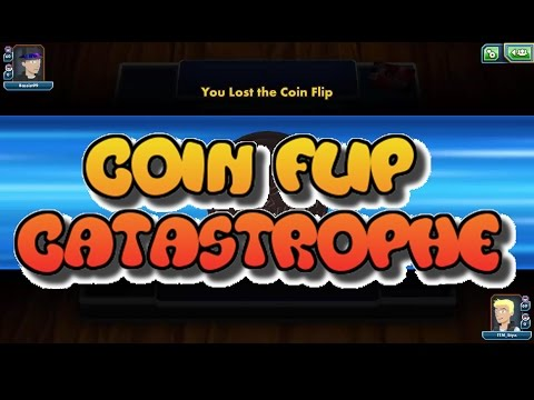 Coin Flip Catastrophe!! Coin Flip Based Deck Match ft. Bacon/Flint: Pokemon TCGO (PTCGO)