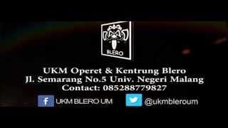 UKM Blero UM_Profil UKM Operet & Kentrung Blero Universitas Negeri Malang 2014