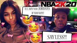 ME AND TRULY MONEY ACTUALLY DATING? FIRST YOUTUBE VIDEO! *FACE CAM* NBA 2K20