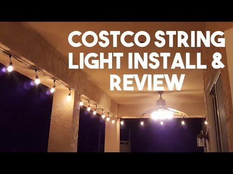 Costco Feit Patio String Light