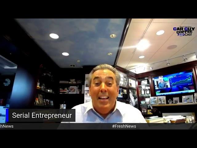Car Guy Coffee Podcast #FRESH News with Tom Maoli CEO of Celebrity Motor Cars