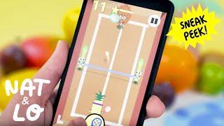 Nat & Lo: Doodle Fruit Games Sneak Peek