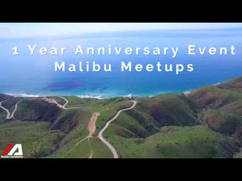 Malibu Meetups 1 Year Anniversary Event Route Preview.