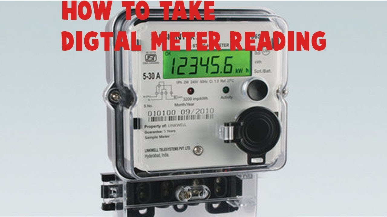 How To Take Tneb Domestic Digital Meter Reading In Tamil Nadu House Wiring Guide English