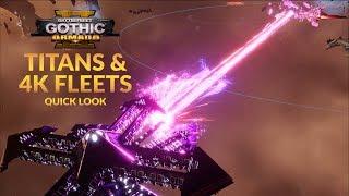 BATTLEFLEET GOTHIC: ARMADA 2 - TITAN SHIPS & 4K FLEETS  (Quick Look and Overview)