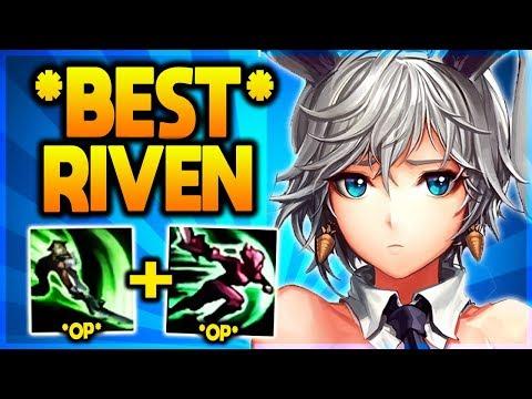 GOING FOR RANK #1 BEST RIVEN WORLD! | RANK 1 INC! (League of Legends)