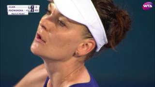 My Performance | Agnieszka Radwanska Defeats Duan | 2017 Apia International Sydney Quarterfinal