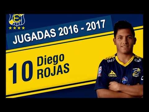 Diego Rojas  Everton 2016 - 2017