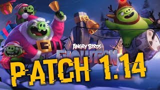Christmas Event + Patch Notes 1.14!!! | Angry Birds Evolution