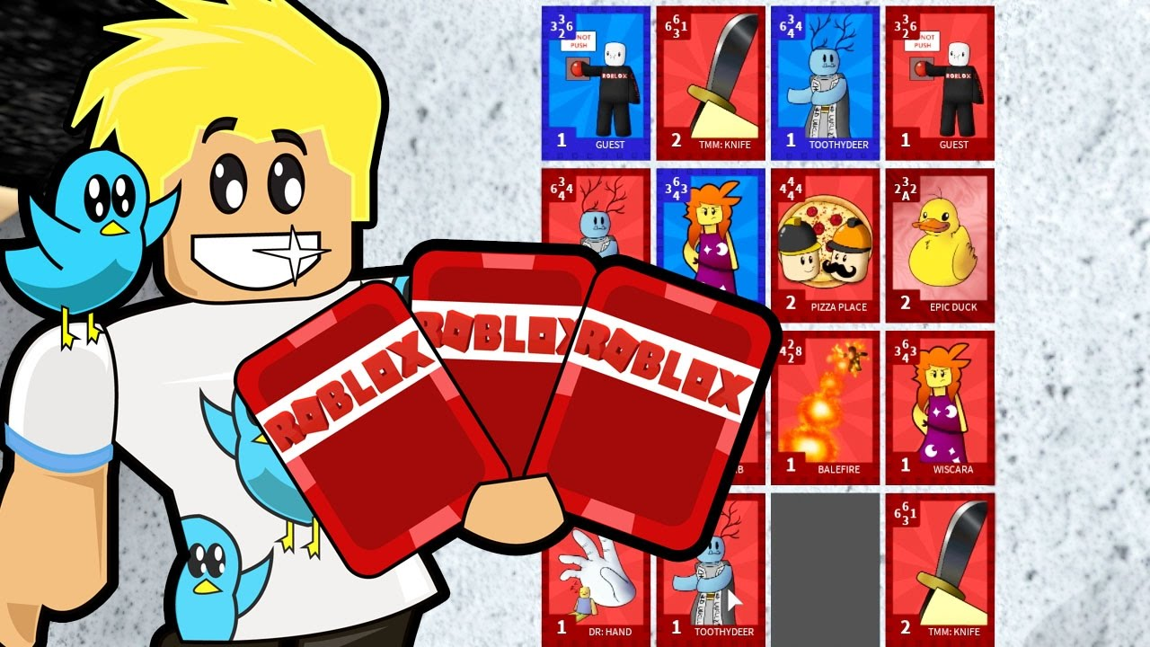 Roblox / Flip Cards - Trading and Battle / Gamer Chad ...