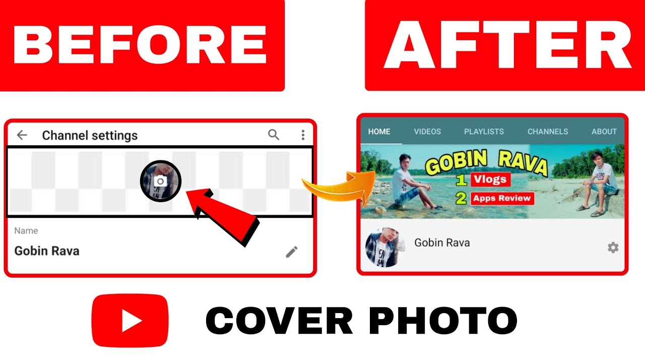 How To Upload Youtube Cover Photo 2020, How To Upload Youtube Banner 2020, YouTube Background Image