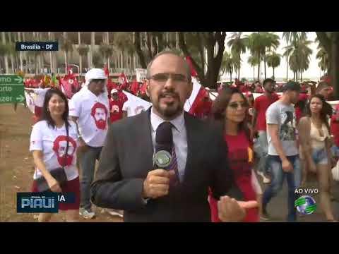 Manifestações: PT vai ao TSE registrar candidatura de Lula
