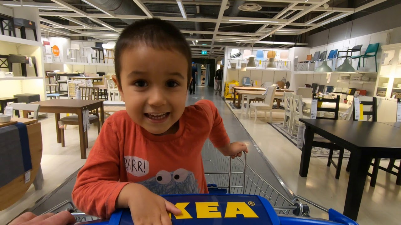 shopping with jonah at ikea wembley london youtube. Black Bedroom Furniture Sets. Home Design Ideas