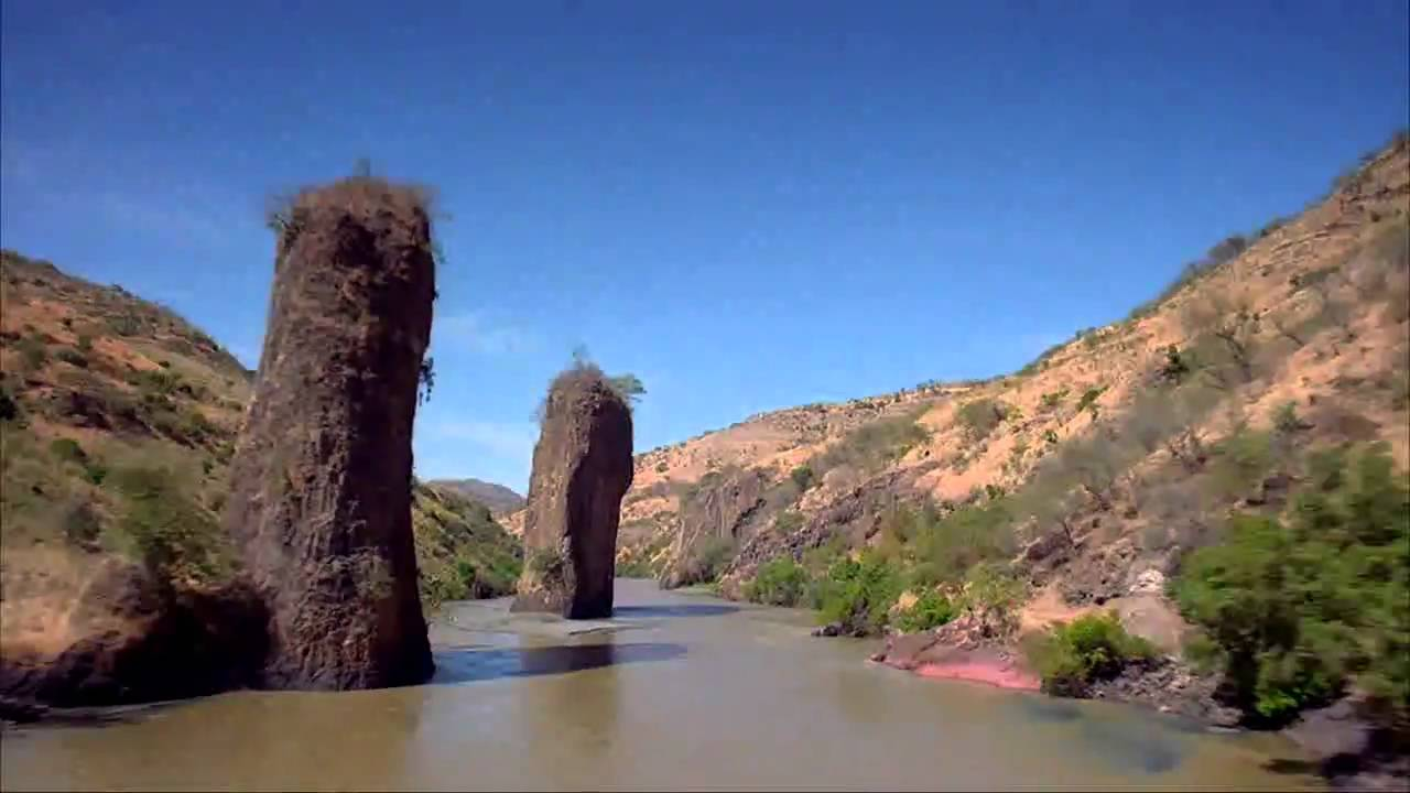 blue nile falls beauty of ethiopia youtube