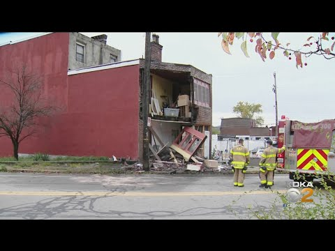 Man Hurt In Crash That Caused House To Partially Collapse