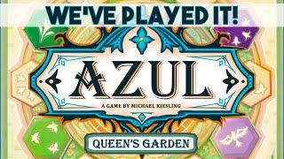 AZUL: Queen's Garden - First Thoughts Review